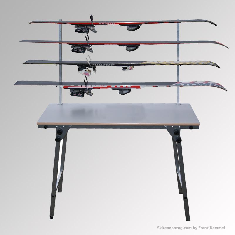 skiablage passend f r servicetisch bis 50 mm alpin ski rennsportshop rennanz ge skibekleidung. Black Bedroom Furniture Sets. Home Design Ideas